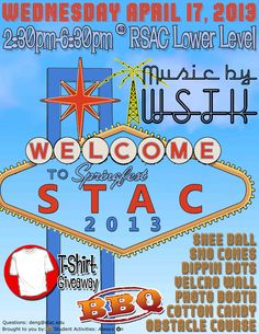 Springfest 2013! What happens at STAC stays at STAC