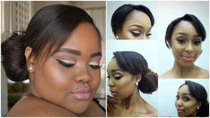 My Minnie Dlamini Inspired Soft Cut Crease Makeup Tutorial ♡ Nicole Khum...