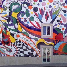 Painel de Joana Vasconcelos, Porto