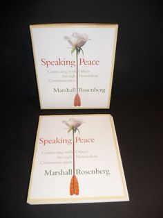 Speaking Peace by Marshall Rosenberg (2003, 2-CD) Connecting With Others