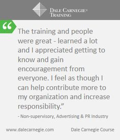 Benefit: Increases employees confidence leading to better leadership at work.