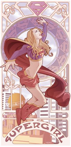 Supergirl Nouveau by Yeso