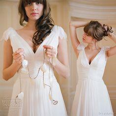 swiss dot wedding dress | Ivy & Aster Wedding Dresses 2011 | Wedding Inspirasi