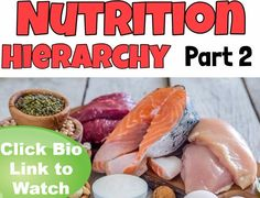OK everyone today we uploaded PART 2 of the ONE REP AT A TIME NUTRITION HIERARCHY video series on YouTube. This series will explain to you the concepts of nutrition that really matter when it comes to both how you look and feel! We give you a specific order of importance explaining where one concept overrules another and how they all work together to make your fitness and health easier to attain than you thought possible. Nutrition doesn't have to be such a Rubix cube so long as you follow…