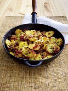 Unser beliebtes Rezept für Die perfekten Bratkartoffeln und mehr als 55.000 weitere kostenlose Rezepte auf LECKER.de.