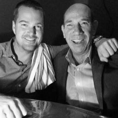 Chris O'Donnell and Miguel Ferrer