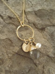 Custom 14k Gold Filled Necklace Includes a door WearableWhispers