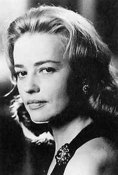 They don't come anymore French than Jeanne Moreau........