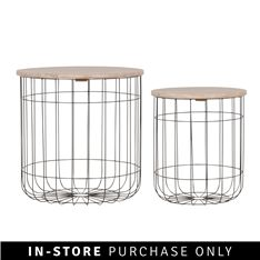 Embracing the latest wire trend in furniture, these contemporary wire side tables are the perfect combination of retro, modern and cool. Table Settings, Beach Apartment Decor, Side Table, Table, Metal Side Table, White Marble Side Table, Side Tables For Sale, Mirror Set, Marble Side Tables