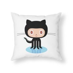 GitHub hacked, millions of projects at risk of being modified or deleted - ExtremeTech Happy Holidays, Mickey Mouse, Disney Characters, Fictional Characters, Geek Stuff, Hacks, Throw Pillows, Art Prints, Illustration