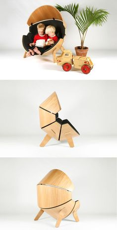 45 Unusual Chair Designs (Best Examples of Craftsmanship) – Bored Art - Diy Möbel