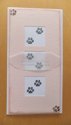 Using Papertrey Ink products, a card for friends who sadly lost their dog. Handmade by Samantha Stoneman
