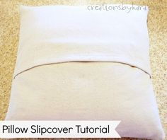 Couch Pillows 479422322808336988 - How To Sew a Pillow Slipcover tutorial Source by callinine Sewing Pillows, Diy Pillows, How To Make Pillows, Custom Pillows, Pillow Ideas, Couch Pillows, Chair Cushions, Easy Sewing Projects, Sewing Hacks