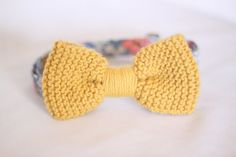 Hey, I found this really awesome Etsy listing at http://www.etsy.com/listing/156638980/mustard-yellow-knitted-mens-bow-tie-with