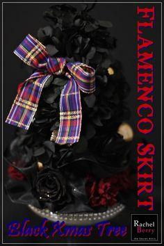 Flamenco Skirt Xmas Tree in BLACK♪  Rachel Berry 東横線・目黒線 横浜 日吉のプリザーブド&アーティフィシャルフラワー教室&オーダー Ameba (アメーバ)