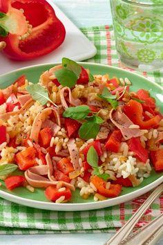 Würziger Reis Risotto, Rice, Meal, Rezepte