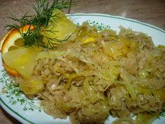 Nie ma jak u mamy...                www.przepismamy.pl: Kapusta kiszona z ananasem