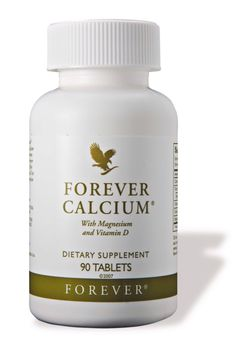 Forever Calcium Made from ultra sense calcium citrate - metal free 4 tablets daily provide 100% daily recommended requirement Combined with vitamin D and magnesium - essential for maximising calcium absorption Essential to maintain strong, healthy bones