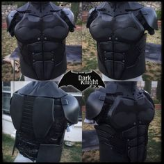Batman Torso/Shoulders: Arkham Origins by DarkKnightFX on Etsy