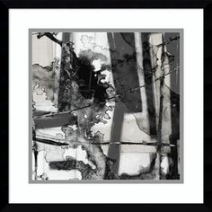 Jennifer Goldberger 'In Motion V' Framed Art Print 17 x 17-inch