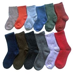 5 Pairs Anti-slip Boys Girls Toddler Socks Multicolor 1, 0-3years Cozy Cotton Wild Jacquard Print with Grips Socks for Aged 0-12 Children Baby Socks