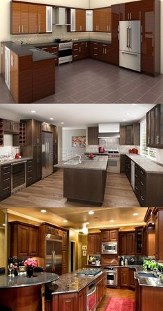 Tips for Buying kitchen Cabinets - http://interiordesign4.com/tips-for-buying-kitchen-cabinets/