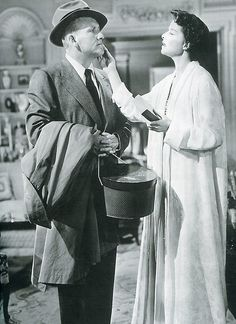 Spencer Tracy and Katharine Hepburn in Adam's Rib