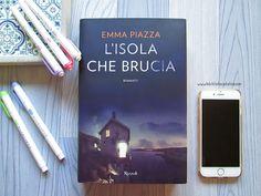 La Biblioteca di Eliza: Recensione: L'isola che brucia - Emma Piazza