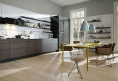 Wandfarbe Fr Kuche : Wandfarbe küche kochinsel weiße schränke grüne wände
