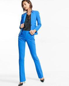 low rise barely boot editor pant- bold, be bold, office, office fashion, fashion, blue, dress pants, blazer, express