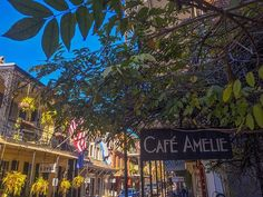 We'll be back open tomorrow at 11am, see you then beautiful New Orleans!  #CafeAmelie  #NolaEats #NewOrleans #Louisiana #Delicious #FrenchQuarter #SecretGarden #VisitNewOrleans #NOLA #courtyard