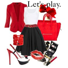 Let's play, created by papadimitriou-alexandra on Polyvore