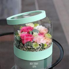 Love Flowers, Diy Flowers, Flower Decorations, Paper Flowers, Beautiful Flowers, Flower Box Gift, Flower Boxes, Flower Shop Design, Flower Designs