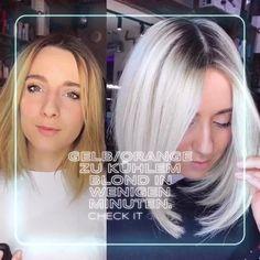 Hair Color Streaks, Hair Color Balayage, Hair Highlights, Medium Thin Hair, Medium Hair Styles, Curly Hair Styles, Frizzy Hair Tips, Rose Gold Hair Blonde, Wedding Hairstyles For Medium Hair