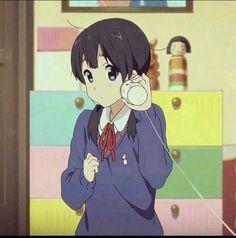 Anime Couples Drawings, Anime Couples Manga, Cute Anime Couples, Couples In Love, Old Anime, Anime Art, Icons Tumblr, Tamako Love Story, Pretty Anime Girl