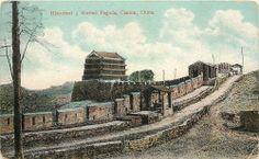 Vintage Postcard, Historical 5 Storied Pagoda, Canton, China