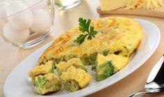 Tortilla de brócoli con queso manchego #CuidarseEsDisfrutar