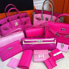 Hermes & in pink. Hermes Bags, Hermes Birkin, Pink Blood, Pink Quotes, Pink Panthers, Everything Pink, Pink Outfits, New Bag, Pink Fashion