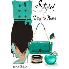 """Day to Night"" by nuria-pellisa-salvado on Polyvore"
