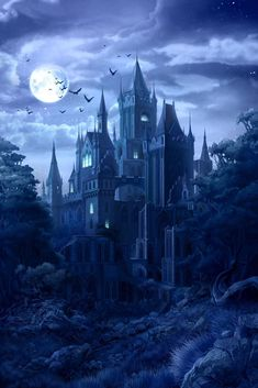 Learn which horror movies help with relationships - Beautiful Darkness - halloween art Dark Fantasy Art, Fantasy Artwork, Fantasy Kunst, Fantasy Art Landscapes, Fantasy City, Fantasy Castle, Fantasy Places, Elves Fantasy, Medieval Fantasy