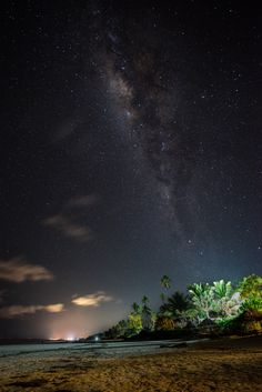 Today I moved from Stone Town to Matemwe, a small village on the east coast of Zanzibar. The view from the beach at night is not too bad I guess :-). Beach At Night, Stone Town, Cultural Diversity, Tanzania, Night Skies, Continents, East Coast, Northern Lights, Photos