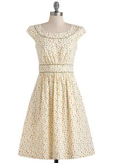 Day after Day Dress in Leaves, #ModCloth    So cute!