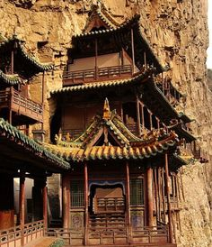 Hanging Temple, Shanxi, China | See More