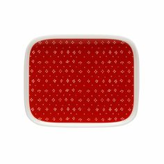 Marimekko Muija Red Small Plate
