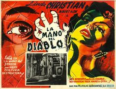 ¡Películas muy locos, ay caramba! The awesomely lurid art of Mexican B-movie lobby cards | Dangerous Minds
