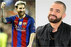 """Así reaccionó Messi tras ser mencionado en tema """"Báilame"""" de Nacho"""