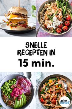 Snelle recepten – wat eten we vandaag - Allerhande