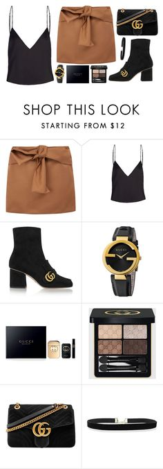 """""""GUCCI IN PARIS"""" by mariimontero ❤ liked on Polyvore featuring N°21 and Gucci"""