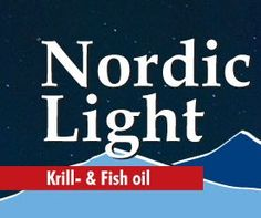 Nordic Light Krill Fish Oil is an ideal combination of krill-and fish oils.A Quality product from Norway. http://www.northernlightproducts.no/ORDER