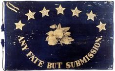 St. Augustine in the Civil War - St. Augustine Blues Flag